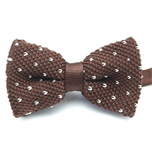 trickt verstellbare Fett gestreiften Pre-tied für Bankett Hochzeit bowknot Bow Tie Geschenk (Kostüme Mit Bogen-krawatten)