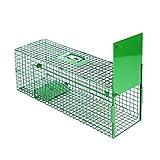 Maxx - trappola per topi vivi trappola - trappola per matti trappola per topi trappola per gabinetti vivi trappola per topi per animali - per topo, ratto, roditori - 75x25x30cm