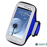 MyNetDeals Sportarmband für Samsung Galaxy S6, Grand Prime, Prevail LTE, S5 Sport, S5 Active, ATIV SE, S5, S4 Active, S4, Stratosphere III
