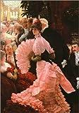 Poster 50 x 70 cm: The Reception by James Tissot / Bridgeman Images - high quality art print, new art poster