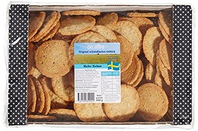Delibake Hafer Kekse, 3er Pack (3 x 600 g)