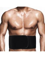 MPTECK @ Ceinture Abdominale abdominaux bandage protege Ceinture Respirant Protège stabilisation légère pour homme et femme