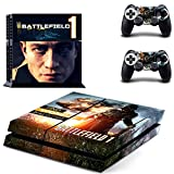 THTB Playstation 4 + 2 Controller Aufkleber Schutzfolie Set - Battlefield 1 (4)/PS4