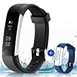 HolyHigh 115U Smart Fitness Band, Waterproof Fitness Tracker Watch for Men Women Kids