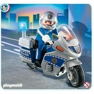 Playmobil - 4261 - Motard de la Police allemande