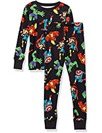 Amazon Essentials Disney Star Wars Marvel Snug-fit Cotton Pajamas Sleepwear Sets Pajama-Sets Garçon