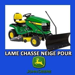 Lame Chasse-neige pour Tracteurs tondeuses JOHN DEERE