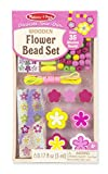 #9: Melissa and Doug Flower Bead Set Toy, Multi Color