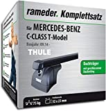 Rameder Komplettsatz, Dachträger SquareBar für Mercedes-Benz C-Class T-Model (121689-12855-1)
