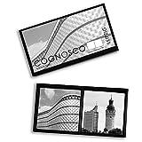 Memo-Spiel LEIPZIG. Hochwertig verarbeitetes Spielset mit eindrucksvollen Stadtmotiven und kulturhistorischen Erläuterungen. Das ideale Geschenk oder Souvenir für Architektur- und Design-Liebhaber.