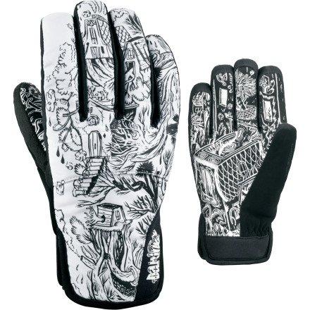 Dakine Herren Snowboard-Handschuhe für Crossfire, Schwarz