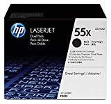 Hp Ce255Xd 5T Laserjet P3015 Dual Pack Black Crtg Printer Cartridges at amazon
