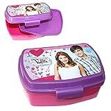 Joy Toy Brotdose mit Einsatz   Violetta   Box Frühstück   Kinder Vesper Dose