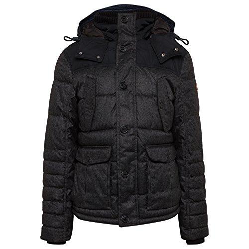 TOM TAILOR Herren Authentic Jacke almost black -ebridges.eu 929279bc3f