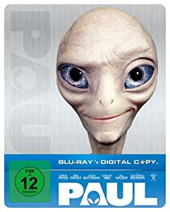 Paul - Ein Alien auf der Flucht (Steelbook) [Blu-ray] [Limited Edition]