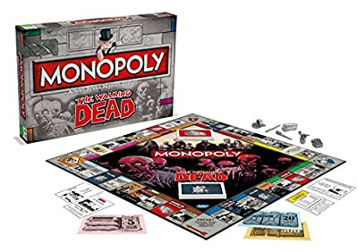 Winning Moves - 0952 - Monopoly The Walking Dead - Version Française