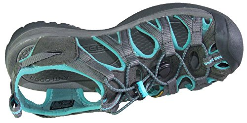 Keen  WHISPER W-BOSSA NOVA/NEUTRAL GRAY, sandales femme Grey