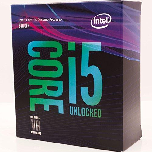 Intel Core i5-8600K 3,60GHz Boxed CPU