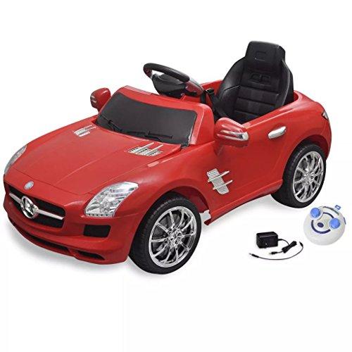 Retrome Voiture électrique Enfants Voiture de Sport avec Batterie 12 Volts 6 V avec télécommande...