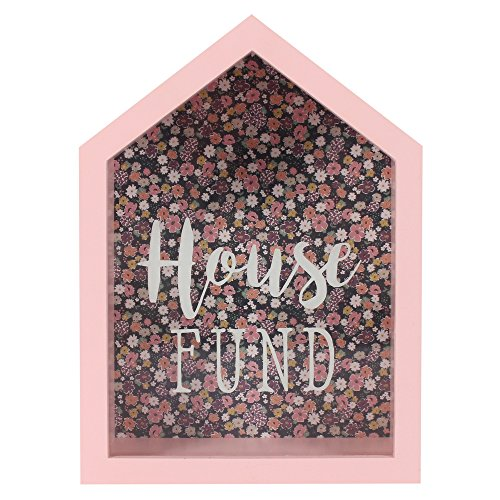 Spardose gerahmt Glass Panel Damen HOUSE Fund Spardose -