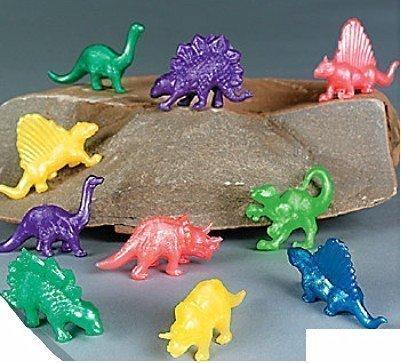 Paquete de 20 Elástico Color Dinosaurios - Ideal Sorpresa Bolsa Fiesta Regalos Calcetín