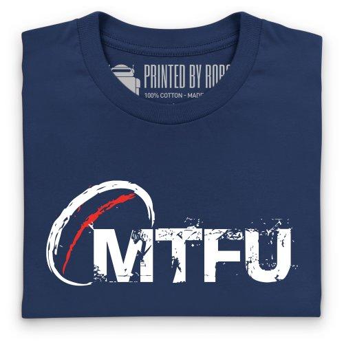 MTFU T-Shirt, Herren Dunkelblau
