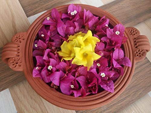 Village Decor Handmade Terracotta Decorative Flower Pot/Uruli/Urli