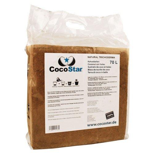 Substrat Coco Star Balle de coco 5 kg pour 70 L