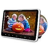 Pumpkin lettore dvd auto per bambini poggiatesta con supporto, 10.1 pollici, supporto USB/SD/AV-in/out/cavo AUX/Region free/ 18 mesi di garanzia