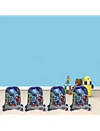 Cutest Cartoon Haversack Bags For Kids, Boys Or Girls To Keep B'day Return Gifts (Pack Of 6 Pcs.)