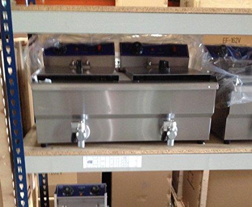 Freidora Industrial 2x 13 L