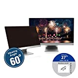 KAEMPFER 27 inch(Diagonally Measured) 16:10 Aspect Ratio Anti-Blue Light Anti-Glare Privacy Screen Protector Filter Widescreen Computer Monitor (22.9' x 14.3' / 582 x 364mm) Please Measure Carefully P