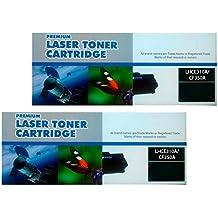 PACK DOS UNIDADES NEGRO HP CE310A / CF350A 126A para HP Color LaserJet Pro MFP M176n M177fw HP LaserJet Printer CP1025 CP1025NW