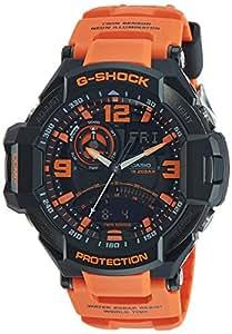 Casio G-Shock Professional World time Analog Black Dial Men's Watch - GA-1000-4ADR (G468)