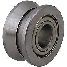 cnbtr 15x 41x 20mm V Groove Sealed Ball Bearing doble fila Angular Contacto