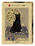 HEYE 29719 - Black Cat Standard, Jane Crowther, 1000 Teile Puzzle
