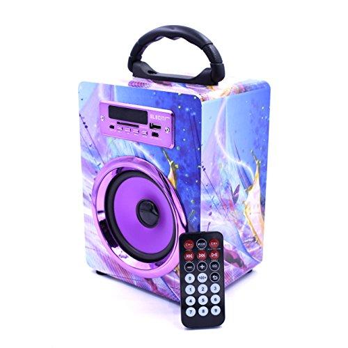 Altavoz Bluetooth con radio, lector USB/SD y control remoto por 14,99€ ¡¡55% de descuento!!