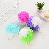 Kaige Baño Color baño bola 32g suministros de baño flor baño baño malla de cuatro piezas de artefacto burbuja