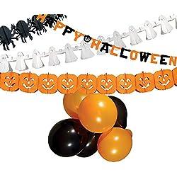 Shopping - Ratgeber 51Y-zwNJ35L._AC_UL250_SR250,250_ Halloween Party- und Tisch-Deko für Innen