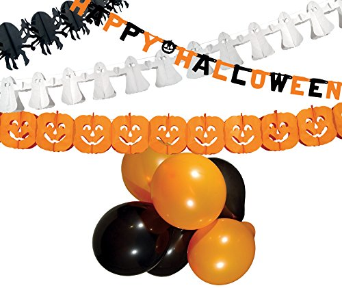 Kit décorations Halloween 8712026745880