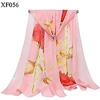 XBR lady foulard, foulard, châle rose fine, foulard, foulard, foulard de soie