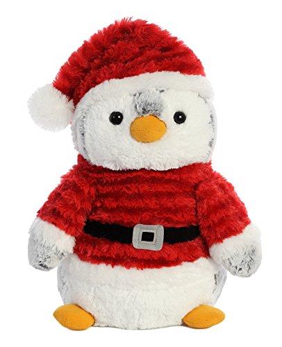 47bff0cb0 Aurora 99010 Peluche Pingüino Papa Noel, Blanco / Rojo, 28Cm