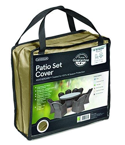 gardman-premium-patio-set-cover-round-8-10-seater-beige-35812