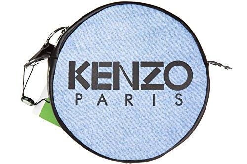 Kenzo borsa donna a tracolla pelle borsello blu