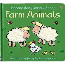 Farm Animals Baby Jigsaw Book