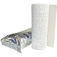8x Gipsbinden a 15 cm x 300 cm (=24 Meter/ 3,6m²/ 0,66€ je Meter) von Tapefactory24 - Gipsbinde für Babybauch,... preisvergleich bei billige-tabletten.eu