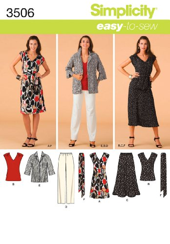 Simplicity Sewing Pattern 3506 BB Miss/ Plus Size Sportswear