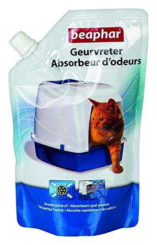 Beaphar - Absorbeur d'odeurs, granulés - litière du chat - 400 g