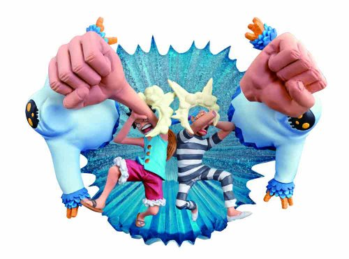 One Piece Logbox - The Under Water Prison Impeldown Figure Set (japan import) 1