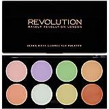 Makeup Revolution Ultra Base Corrector Palette, 13g